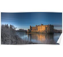 Castle at Dawn Poster