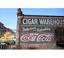 Cigars and Coca~Cola Photographic Print