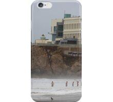 Blow Hole on North Beach, SF iPhone Case/Skin
