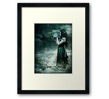 Pure Love Framed Print