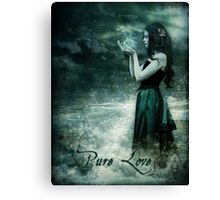 Pure Love Canvas Print