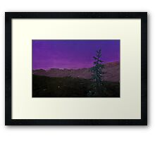 Banff Evening Solitude Framed Print