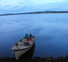 Boat on Still water by wheelo