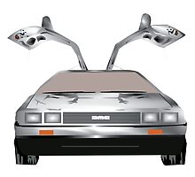 DMC DeLorean by Graphicsbyte