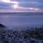 Ballyconnigar Strand at dawn by Ian Middleton