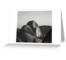 Half Dome View From Olmsted Point Greeting Card