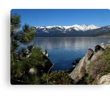 Sand Harbor on Lake Tahoe Canvas Print