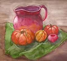 Still Life Rough  by amiradance