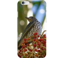 Fig Bird  iPhone Case/Skin