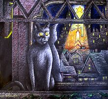 STARLIGHT STARBRIGHT CAT  by Larry Butterworth