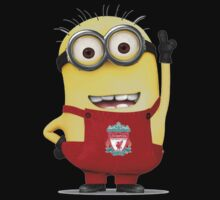 LIVERPOOL MINIONS Movie Despicable Me Football Funny Kids Clothes