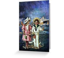 DO YOU REALLY HAVE TO LEAVE SO SOON Greeting Card