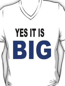 Yes it is big T-Shirt
