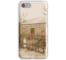 Good Fences -- Ruined House, Cuervo, New Mexico iPhone Case/Skin