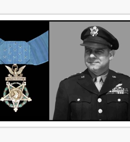 Jimmy Doolittle and The Medal of Honor Sticker