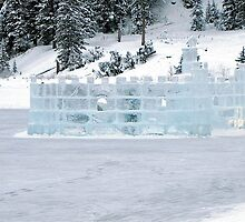 Ice Castle In Winter by Nancy Richard