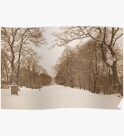 Victorian Winter Wonderland Walk Poster
