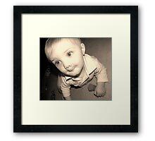 precious eyes  Framed Print