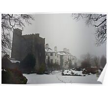 Winter at Barberstown Castle Poster