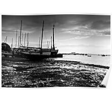Boats - West Mersea, Essex Poster