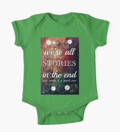 We're All Stories In The End One Piece - Short Sleeve