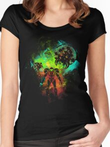 Bounty Hunter of Space Women's Fitted Scoop T-Shirt