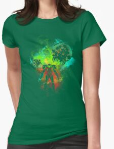 Bounty Hunter of Space Womens Fitted T-Shirt