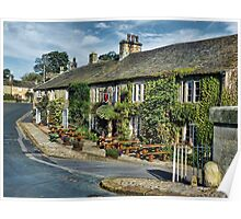 The Red Lion, Burnsall. Poster