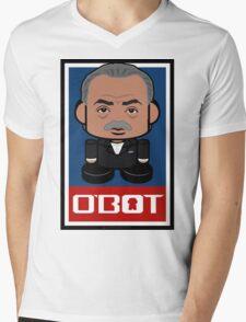 Sharpton Politico'bot Toy Robot 2.0 Mens V-Neck T-Shirt