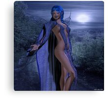 The Night Guide Canvas Print