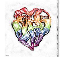 the human heart Photographic Print