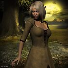 The elven peasant girl by capn-gary