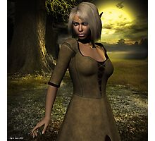 The elven peasant girl Photographic Print