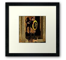 """""""Who would be next?""""  Framed Print"""