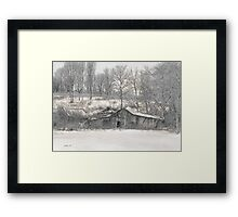 Lost Barn  Framed Print