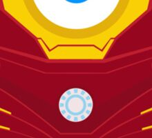 Minion Iron Man Funny Sticker