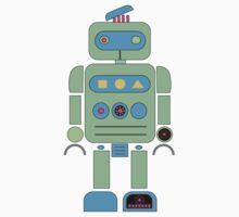 Green Robot Baby Tee
