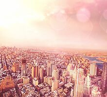 New York City Skyline by Vivienne Gucwa