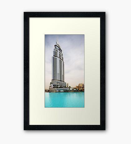 The Address Downtown Dubai Framed Print
