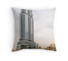 The Address Downtown Dubai Throw Pillow