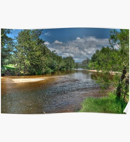 Grose River, Navua Reserve Poster