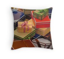 Mannheim - Wrapped in a department store Throw Pillow