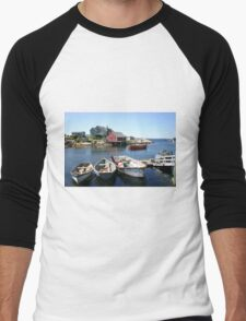 Peggy's Cove, Nova Scotia Men's Baseball ¾ T-Shirt