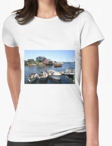 Peggy's Cove, Nova Scotia Womens Fitted T-Shirt