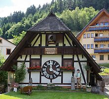 World Largest Cuckoo Clock by Yair Karelic