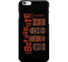 Syndicate Tiki - Red Lineless iPhone Case/Skin