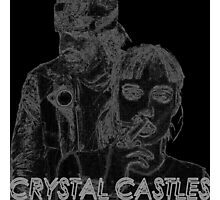 Crystal Castles Edges Photographic Print