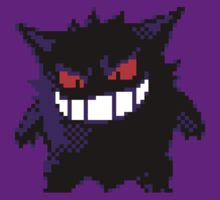Retro Gengar 16-Bit by BrianShepherd