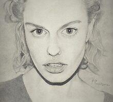 """Gemma Janes"" Drawing by P. Praditsorn"