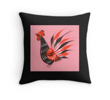 The roosters Throw Pillow